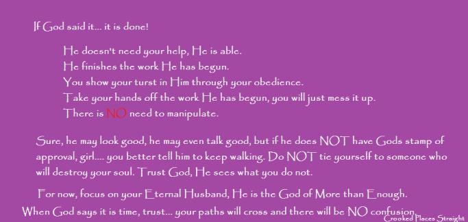 if God said